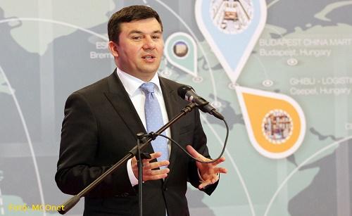 Branislav Bugarski介绍塞尔维亚和中国的投资合作机会