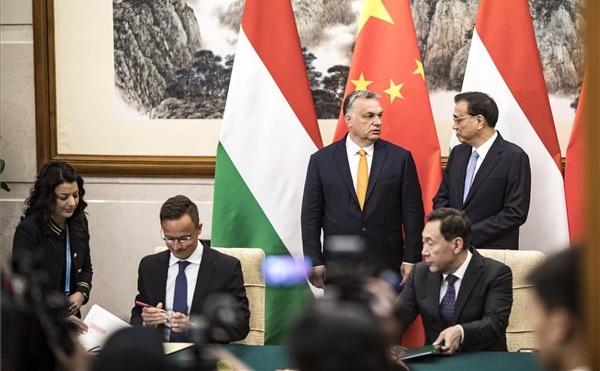 奥尔班:中国的愿望与匈牙利的利益相吻合
