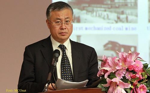 Cao Quanmin唐山市副市长被采访