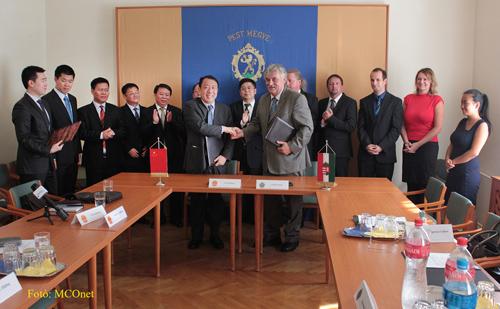 海南省代表团访问匈牙利