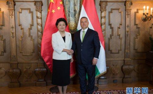 刘延东会见匈牙利总理Orbán Viktor