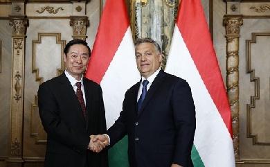Orbán Viktor 会见刘奇葆