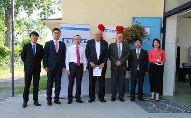 Feintek集团公司匈牙利工厂的开业典礼