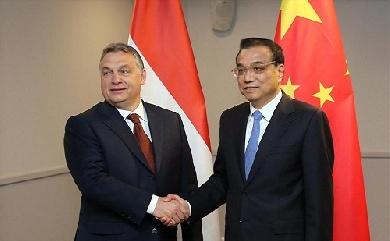 李克强会见Orbán Viktor